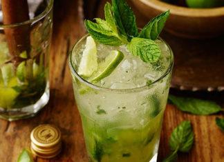Orzeźwiający drink Mojito